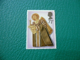 FRANCOBOLLO STAMPS NATALE ANGELI SUONATORI 1972 2 7 1/2 P - 1952-.... (Elisabetta II)