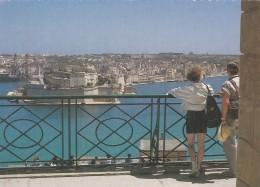 MALTA - FORT ST ANGELO FROM UPPER BARRAKKA - Malta