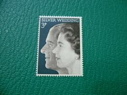 FRANCOBOLLO STAMPS SILVER WEDDING 3 P - 1952-.... (Elisabetta II)
