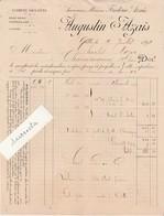 Facture 1892 / Augustin AZAIS / Vins / 34 Cette Hérault - Other