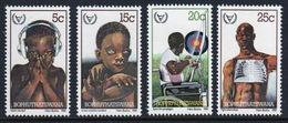 Bophuthatswana Set Of Stamps Celebrating International Year Of The Disabled  From 1981. - Bophuthatswana