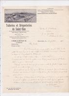 22-Tuileries & Briqueteries -Céramique De St Ilan  (Côtes D'Armor) 1943 - Other