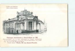 PARAY Le MONIAL - Pélerinages Internationaux En 1900 : Musée Eucharistique - Dos Simple - 2 Scans - Paray Le Monial