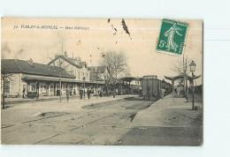 PARAY Le MONIAL - Gare Intérieure - Animée - 2 Scans - Paray Le Monial