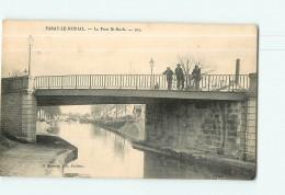 PARAY Le MONIAL - Pont Saint Roch - Animée - 2 Scans - Paray Le Monial