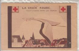 LA CROIX ROUGE  Trait D'Union Entre Les Peuples - Croce Rossa