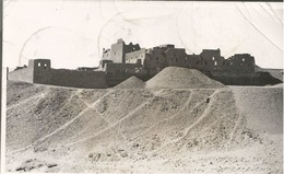 LUXOR HALLAL, EGYPT, PC REAL FOTO, Circulated 1947 - Luxor