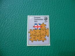 FRANCOBOLLO STAMPS EUROPEAN COMMUNITIES 1973 3 P - 1952-.... (Elisabetta II)