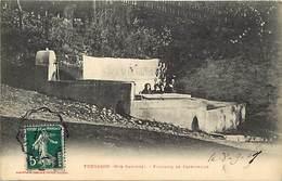 - Dpts Div.-ref-AC07- Haute Garonne - Fougaron - Fontaine De Cazevieille - Syndicat De Cazevieille -edit. Labouche N°07 - Otros Municipios