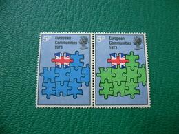 FRANCOBOLLO STAMPS EUROPEAN COMMUNITIES 1973 5 P - 1952-.... (Elisabetta II)