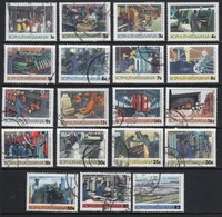 Bophuthatswana Selection Of Stamps Which Are Part Of The Set  From 1984. - Bophuthatswana