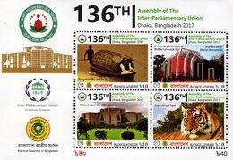 Bangladesh - 2017 - 136th Assembly Of Inter-Parliamentary Union - Mint Souvenir Sheet - Bangladesh