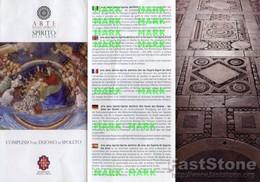 Spoleto - Santino Grande Depliant COMPLESSO DEL DUOMO - PERFETTO P68 - Religione & Esoterismo