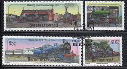 Bophuthatswana Set Of Stamps Celebrating Steam Locomotives 2nd Series From 1993. - Bophuthatswana