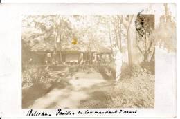 MADAGASCAR - BETROKA - Pavillon Du Commandant D'Armes (carte Photo, Deux Scan) - Madagascar