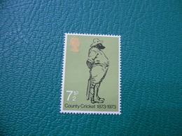 FRANCOBOLLO STAMPS  COUNTRY CRICKET 7 1/2  P - 1952-.... (Elisabetta II)