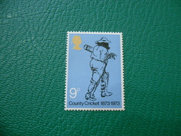 FRANCOBOLLO STAMPS  COUNTRY CRICKET    9  P - 1952-.... (Elisabetta II)