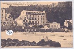 TREBOUL- GRAND HOTEL DES SABLES BLANCS- ANCIEN ET NOUVEAUX BATIMENTS VUS DE LA PLAGE - Tréboul