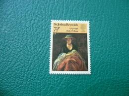 FRANCOBOLLO STAMPS  SIR  JOSHUA REYNOLDS 7 1/2 P - 1952-.... (Elisabetta II)