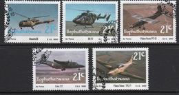 Bophuthatswana Set Of Stamps Celebrating Air Force From 1990. - Bophuthatswana