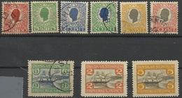 ANTILLES DANOISES N° 27 à 35 - Danemark (Antilles)