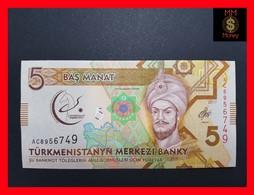 Turkmenistan  5 Manat  2017  P. NEW  *COMMEMORATIVE* - Turkménistan