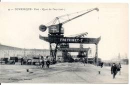 59 - DUNKERQUE - Port - Quai Du Freycinet 7, Tampon Laboratoires P. Michel Cirey Sur Vezouze 54 - Dunkerque