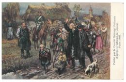 Pologne, Tableau De Gorski. L'expropriation Des Polonais Par Les Prussiens (A4p39) - Polen