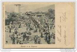 Karlowo - Gemüsemarkt - Rückseite Beschrieben 1919 - Bulgaria
