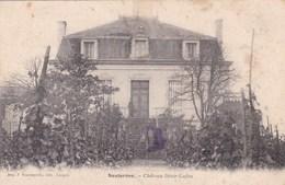 SAUTERNES  - GIRONDE -  (33)  -  PEU COURANTE CPA. - France