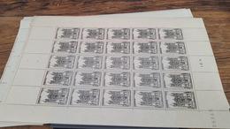 LOT 410586 TIMBRE DE FRANCE NEUF** N°663 VALEUR 25 EUROS FEUILLE  LUXE BLOC - Feuilles Complètes