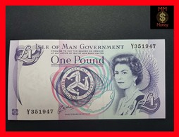 Isle Of Man / Channel Island 1 £  1991  P. 40 B UNC - [ 4] Isle Of Man / Channel Island
