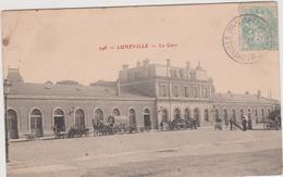 Meurthe  Et  Moselle :  LUNEVILLE  :  La  Gare - Luneville