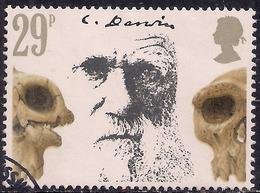 GB 1982 QE2 29p Death Cent. Charles Darwin Used  SG 1178 ( H505 ) - Oblitérés