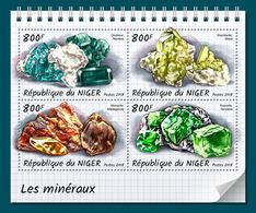 NIGER 2018 - Minerals. Official Issue - Mineralen