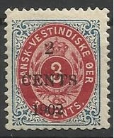 ANTILLES DANOISES N° 21 Neuf Avec Charnière - Danemark (Antilles)