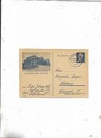Karte Von Waldheim Nach Altenburg 1952/Bild Landerthesther Dessau! - Briefe U. Dokumente
