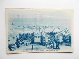CPA - BLANKENBERGHE -  L'Heure Du Bain , Het Uur Van Het Bad , 1932, Strandgenoegens- ANIMATIE  - NO REPRO - Blankenberge