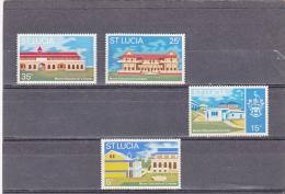 Santa Lucia Nº 314 Al 317 - St.Lucia (1979-...)