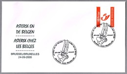 ASTERIX CON LOS BELGAS - Asterix In Belgium. Brussel 2005 - Comics