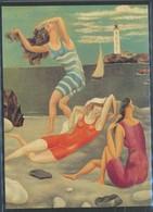 Ansichtskarten - Pablo Picasso,   Die Badenden   Ungelaufen - Künstlerkarten