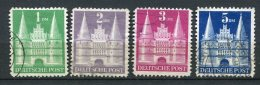 8146  ALLEMAGNE BIZONE  N°65/8 °  La Holstentor De Lübeck   Type II    1948   TB - Zone Anglo-Américaine