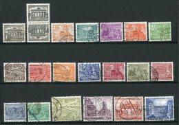 8158  ALLEMAGNE Berlin  N°28/46 *+ 28a  Série Courante : Monuments   1949    TB/TTB - [5] Berlin