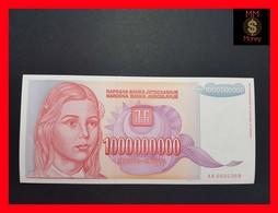 Yugoslavia  1.000.000.000 Dinara 1993 P. 126 UNC-  AA - Yugoslavia