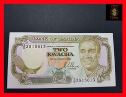 Zambia  2 Kwacha 1989 P. 29 UNC 7.00 - Zambie