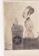 CPA Caricature Orateur ESPERANTO Bouteille Siphon Illustrateur ESSAM ? (2 Scans) - Esperanto
