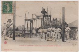 LUNEVILLE GARNISON UN SAUT EN HAUTEUR 2e BATAILLON DE CHASSEURS TBE - Luneville