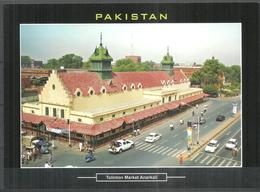 PAKISTAN POSTCARD , VIEW CARD TOLINTON MARKET ANARKALI LAHORE - Pakistan