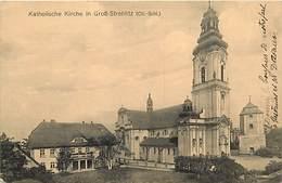 Pays Div : Ref M852- Allemagne - Katholische Kirche In Grob Strehlitz - Carte Bon Etat  - - Sin Clasificación