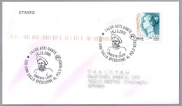 100 Años Expedicion Al Polo Norte De UMBERTO CAGNI. Asti Date 2000 - Polar Exploradores Y Celebridades
